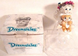 NEW OLD STOCK 1996 DREAMSICLES COOL CAT LITTLE GIRL CAST ART FIGURINE 10022 - $8.78