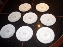 "Vintage Noritake Mayfair Set Of 8 6 1/2"" Plates All Good Condition - $14.84"