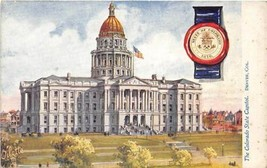 Colorado State Capitol Denver CO Tuck postcard - $6.44