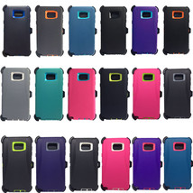 For Samsung Galaxy Note 5 Rugged Defender Shockproof Case (Clip Fits Ott... - $4.99+