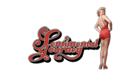 Made In United States Sentimental Journey (Left) Nose Art Decal 6''   - $19.79