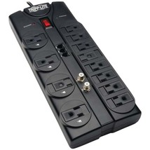 Tripp Lite TLP1208TELTV Protect It! 12-Outlet Surge Protector - $64.48