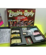 Zombie Opoly Board Game Zombieopoly Dead Horror Theme Complete In Box - £13.88 GBP