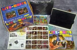 Vintage•Original•1967•1st Edition•Hasbro•Lite-Brite•Complete+Extra•Works•w/ Bulb - $79.99