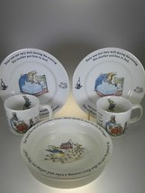 Wedgwood Peter Rabbit 5 PC Chils Set  (MADE IN ENGLAND) - $52.42