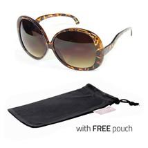 Huge Extra Oversized Large Womens Vintage Round Sunglasses Tortoise FREE... - $6.99