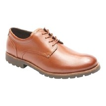 Rockport Sharp & Ready Colben Men's Tan Leather Oxford Wide(W), V80076 - $79.99