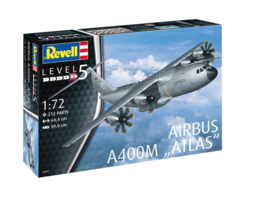 Airbus A400M ATLAS 1:72 1/72 Revell 212 Parts Level 5 Model Kit - $78.39