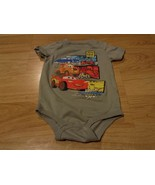 Infant Size 6 Months Disney Baby Pixar Cars One-Piece Creeper Gray McQue... - $8.00