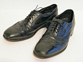 Florsheim Dress Shoes Erickson Wing Tip Black 11 D - $26.68