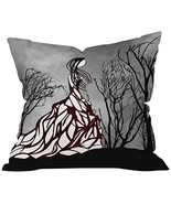 DENY Designs Amy Smith Lost In The Woods Throw Pillow, 16-Inch by 16-Inch - $33.29