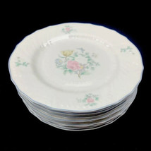 """Royal Doulton Valencia Moselle Collection 1144 1983 8"""" Salad Plate Set of 10 U24 - $93.47"""