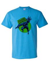 Black Panther T shirt retro Marvel comic book superhero cotton blend graphic tee image 2