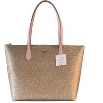 Kate Spade Joeley Glitter Large Tote ~ Rose Gold Handbag New/NWT - $99.95
