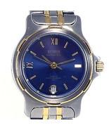 Benrus Ladies Date, 2 Tone, Water Resistant, Stainless Steel, Bracelet W... - $34.50