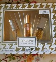 Vintage The Perfumery Golden Edition Stetson/Coty Perfume Set - $25.00