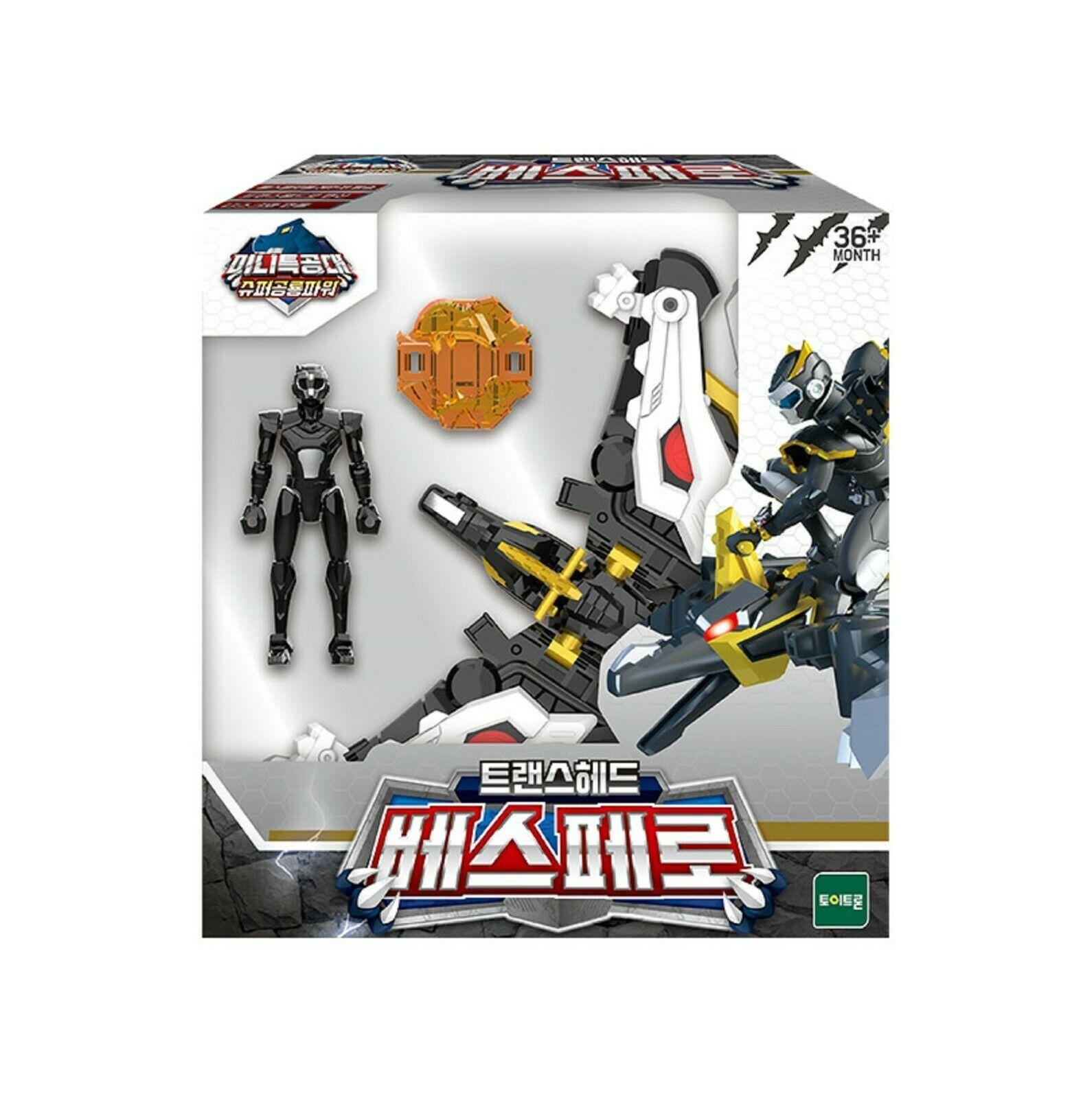 Miniforce Trans Head Vespero Super Dinosaur Power Action FIgure Toy