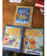 Winnie the Pooh Walt Disney 3 books Christmas Stories Day for Eeyore Hon... - $12.97