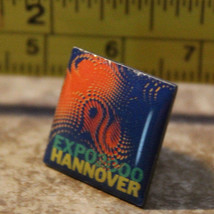 Hannover Germany Expo 2000 Collectible Pinback Pin - $8.24