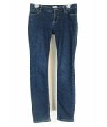 J. Jill Size 4 Dark Wash Stretch Skinny Jeans - $20.99