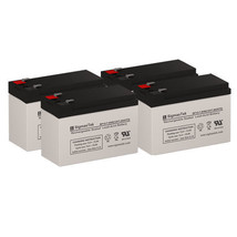 APC SURTA1500RMXL UPS Battery Set (Replacement) Batteries By SigmasTek - $116.81