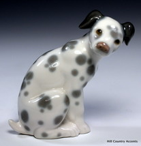 "LLADRO ""DALMATIAN"" - # 1260 -  DOG IS SITTING - PUPPY - NO BOX - MINT - $133.65"
