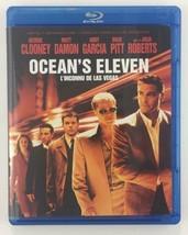 Oceans Eleven (Blu-ray Disc,Canadian) CRIME HEIST LAS VEGAS BRAD PITT MA... - $5.65