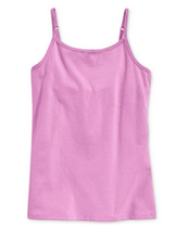 Epic Threads Girls' Solid Tank, Violet Tulle, Size L - $8.59