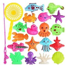 George Jimmy Children Intelligence Fishing Toys/ Rods/Magnetic Puzzle Pl... - $27.38 CAD