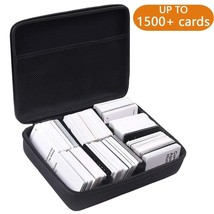 PAIYULE Extra Large Hard Case 2 Row For C.A. H. Card Game. Fits The Main... - $22.20