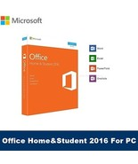 Microsoft Office Home and Student 2016 - for Windows PC -Licence key/Code - $14.89