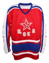 Fetisov team russia cccp hockey jersey red   1 thumb200