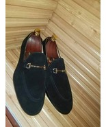 Handmade Best Suede Leather Loafers Dress Shoes, Best Formal Leather Shoes - $159.99+