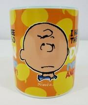 "Gibson Peanuts Charlie Brown Coffee Mug 10 oz ""I Hate to See the Sun Go Down"" - $8.86"