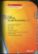Microsoft Office Small Business 2007 Upgrade Version With License Key Op... - $18.80