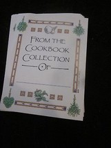 J CORBITT SET OF 18 FROM THE COOKBOOK COLLECTION OF BOOKPLATES BOOK PLAT... - $9.99