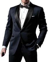 Skyfall James Bond Midnight Blue Tuxedo Suit image 2