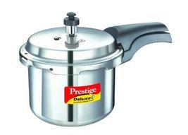 Prestige Deluxe Plus Aluminum Pressure Cooker, 3 Liter - $76.00