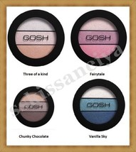 NEW GOSH Eyelight Trio Make-Up 3 Eye Shadow Textures-Different Shades in... - $12.49