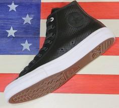 Converse Sample Chuck Taylor ALL-STAR Ii 2 Hi Green/White Leather [153554C] Sz 9 - $62.22