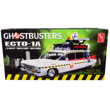 Skill 2 Model Kit 1959 Cadillac Eldorado Ambulance Ecto-1A Ghostbusters ... - $43.07