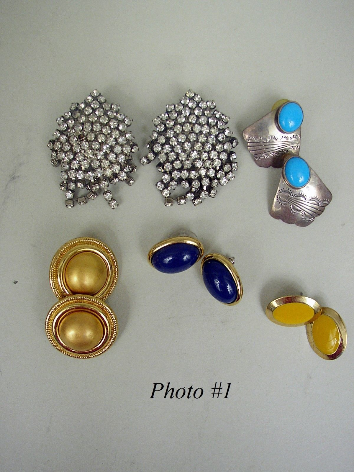 Lot of 22 Vintage/Contemporary Earrings - $4.09 Average Each Pair