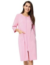 Zexxxy Women Soft Sleepwear Bridesmaid Robe with Pockets Loungerswear Pi... - $26.15