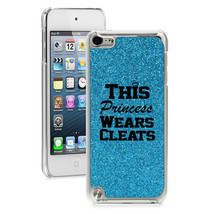 For iPod Touch 4th 5th 6th Glitter Bling Case Princess Wears Cleats Soft... - $14.99