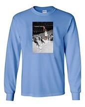 "The Silo Long Sleeve Blue Jordan Unc ""The Shot"" T-Shirt Adult - $22.26"