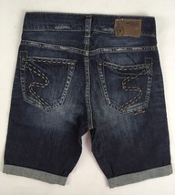 SILVER JEANS SALE Women Low Rise Buckle Decker Denim Jean Boyfriend Shor... - $23.34