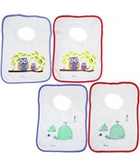 Dreambaby Pullover Bibs,Owls and Whales, 4-Count - $12.86