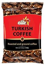 Elite Turkish Ground Roasted Coffee Bag, 3.5000-ounces (Pack of 10) - $41.99