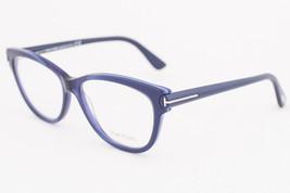 Tom Ford 5287 092 Blue Eyeglasses TF5287 092 55mm - $175.42