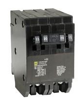 Square D Quad Tandem Breaker HOMT1515220  1P-15/15A 2P-20A 120/240V 2P  - $23.38